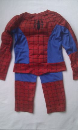 Adorable Marvel 'Spiderman' 2-Piece Fancy Dress Outfit 3-4 years